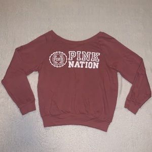 PINK Victoria's Secret pullover long sleeve💕😍